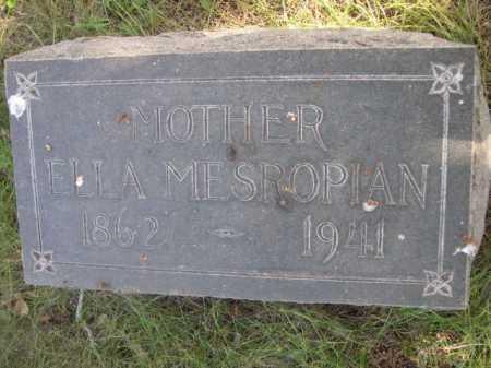 MESROPIAN, ELLA - Dawes County, Nebraska   ELLA MESROPIAN - Nebraska Gravestone Photos