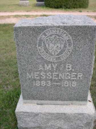 MESSENGER, AMY B. - Dawes County, Nebraska | AMY B. MESSENGER - Nebraska Gravestone Photos