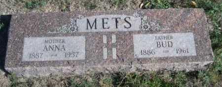 METS, ANNA - Dawes County, Nebraska | ANNA METS - Nebraska Gravestone Photos