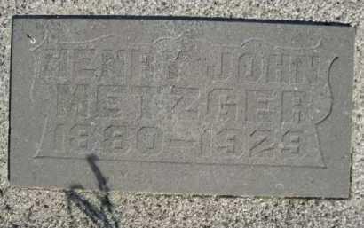 METZGER, HENRY - Dawes County, Nebraska | HENRY METZGER - Nebraska Gravestone Photos