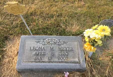 MEYER, LEONA M. - Dawes County, Nebraska | LEONA M. MEYER - Nebraska Gravestone Photos