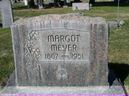 MEYER, MARGOT - Dawes County, Nebraska | MARGOT MEYER - Nebraska Gravestone Photos