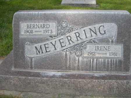 MEYERRING, IRENE - Dawes County, Nebraska   IRENE MEYERRING - Nebraska Gravestone Photos