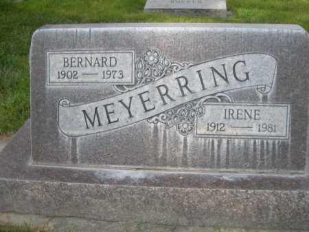 MEYERRING, BERNARD - Dawes County, Nebraska | BERNARD MEYERRING - Nebraska Gravestone Photos