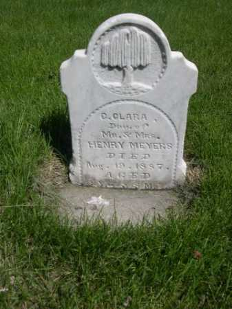 MEYERS, C. CLARA - Dawes County, Nebraska | C. CLARA MEYERS - Nebraska Gravestone Photos