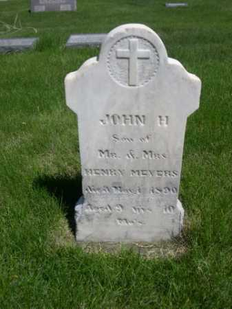 MEYERS, JOHN H. - Dawes County, Nebraska | JOHN H. MEYERS - Nebraska Gravestone Photos