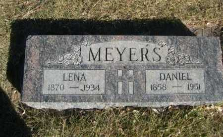 MEYERS, DANIEL - Dawes County, Nebraska | DANIEL MEYERS - Nebraska Gravestone Photos