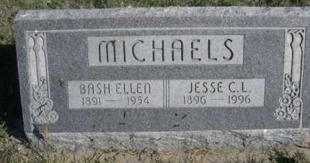 MICHAELS, BASH ELLEN - Dawes County, Nebraska | BASH ELLEN MICHAELS - Nebraska Gravestone Photos