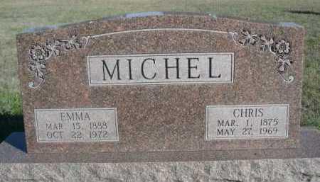 MICHEL, EMMA - Dawes County, Nebraska   EMMA MICHEL - Nebraska Gravestone Photos