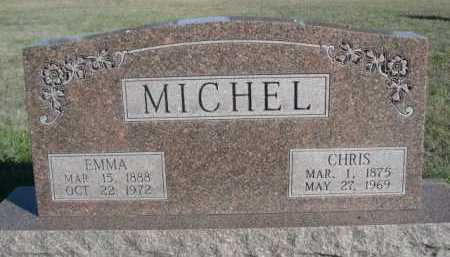 MICHEL, CHRIS - Dawes County, Nebraska | CHRIS MICHEL - Nebraska Gravestone Photos