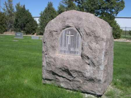 MILLAR, STOCKS - Dawes County, Nebraska | STOCKS MILLAR - Nebraska Gravestone Photos