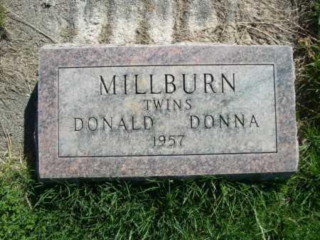 MILBURN, DONNA - Dawes County, Nebraska | DONNA MILBURN - Nebraska Gravestone Photos