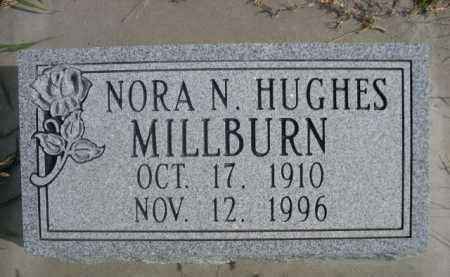 HUGHES MILLBURN, NORA N. - Dawes County, Nebraska | NORA N. HUGHES MILLBURN - Nebraska Gravestone Photos