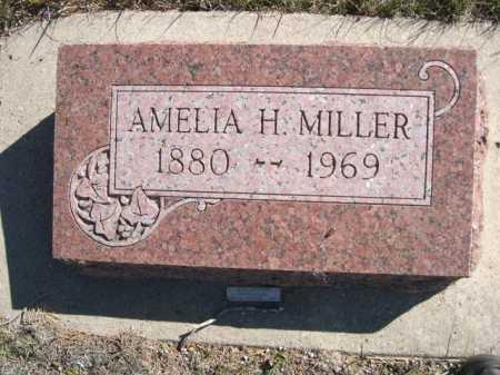 MILLER, AMELIA H. - Dawes County, Nebraska   AMELIA H. MILLER - Nebraska Gravestone Photos