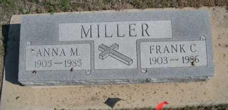 MILLER, FRANK C. - Dawes County, Nebraska | FRANK C. MILLER - Nebraska Gravestone Photos