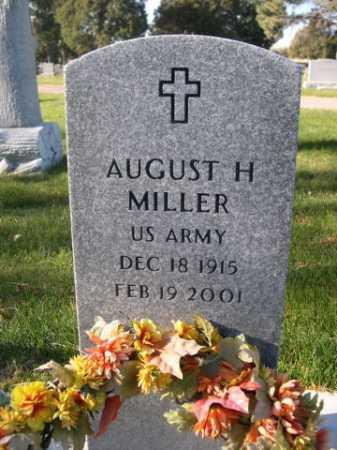 MILLER, AUGUST H. - Dawes County, Nebraska | AUGUST H. MILLER - Nebraska Gravestone Photos