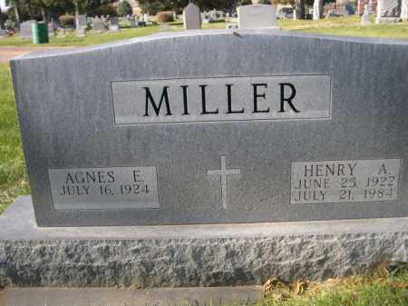 MILLER, AGNES E. - Dawes County, Nebraska | AGNES E. MILLER - Nebraska Gravestone Photos