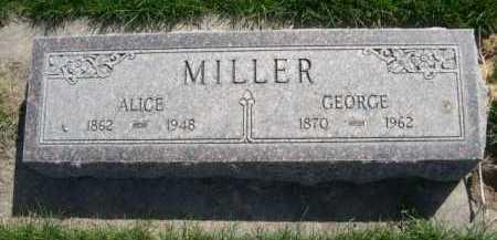 MILLER, ALICE - Dawes County, Nebraska | ALICE MILLER - Nebraska Gravestone Photos