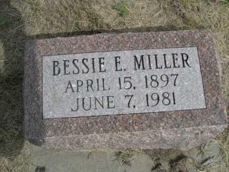 MILLER,, BESSIE E. - Dawes County, Nebraska | BESSIE E. MILLER, - Nebraska Gravestone Photos