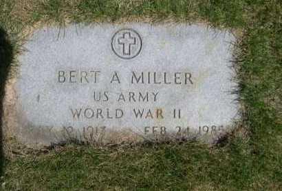 MILLER, BERT A. - Dawes County, Nebraska   BERT A. MILLER - Nebraska Gravestone Photos