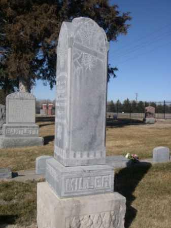 MILLER, CARL FREDERICK - Dawes County, Nebraska | CARL FREDERICK MILLER - Nebraska Gravestone Photos