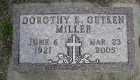 OETKEN MILLER, DOROTHY E. - Dawes County, Nebraska | DOROTHY E. OETKEN MILLER - Nebraska Gravestone Photos