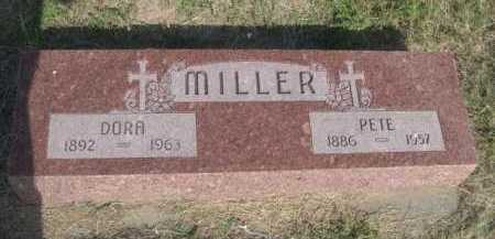 MILLER, PETE - Dawes County, Nebraska | PETE MILLER - Nebraska Gravestone Photos