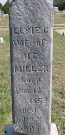 MILLER, ELSIE C. - Dawes County, Nebraska | ELSIE C. MILLER - Nebraska Gravestone Photos
