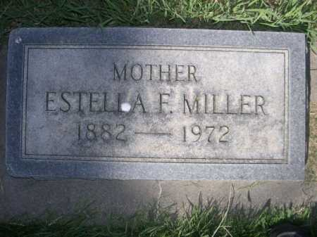 MILLER, ESTELLA F. - Dawes County, Nebraska | ESTELLA F. MILLER - Nebraska Gravestone Photos