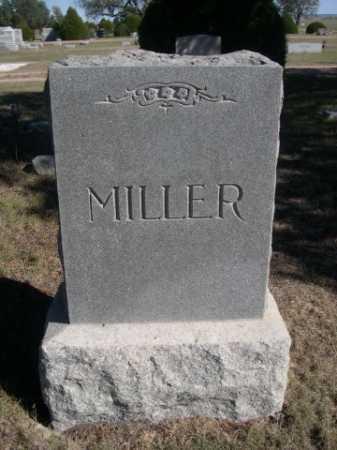 MILLER, FAMILY - Dawes County, Nebraska | FAMILY MILLER - Nebraska Gravestone Photos