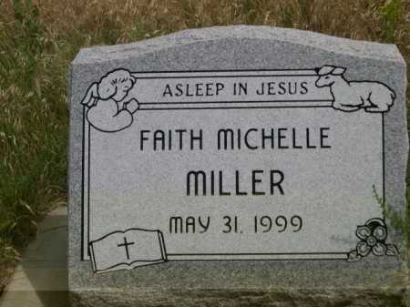 MILLER, FAITH MICHELLE - Dawes County, Nebraska | FAITH MICHELLE MILLER - Nebraska Gravestone Photos