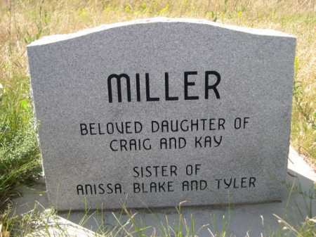 MILLER, FAITH MICHELLE - Dawes County, Nebraska | FAITH MICHELLE MILLER - Nebraska Gravestone Photos