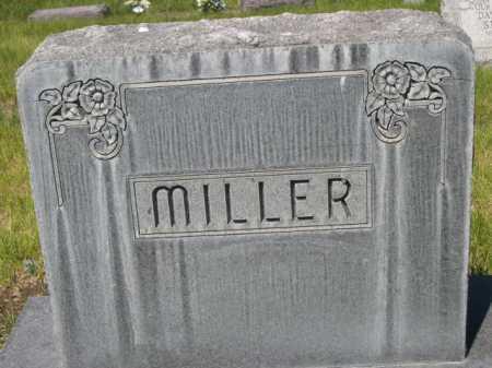 MILLER, FAMILLY - Dawes County, Nebraska   FAMILLY MILLER - Nebraska Gravestone Photos
