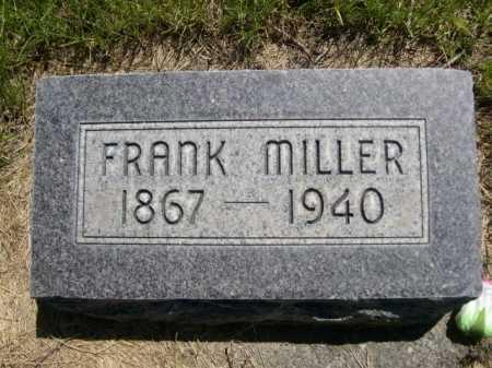 MILLER, FRANK - Dawes County, Nebraska | FRANK MILLER - Nebraska Gravestone Photos