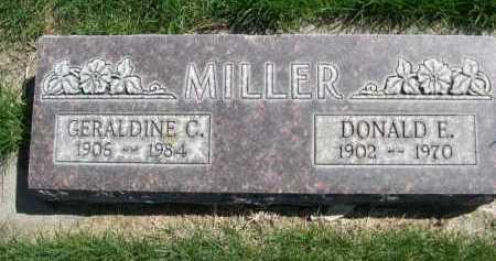 MILLER, GERALDINE C. - Dawes County, Nebraska | GERALDINE C. MILLER - Nebraska Gravestone Photos
