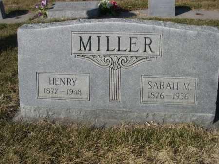 MILLER, SARAH M. - Dawes County, Nebraska | SARAH M. MILLER - Nebraska Gravestone Photos