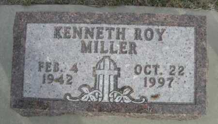 MILLER, KENNETH ROY - Dawes County, Nebraska | KENNETH ROY MILLER - Nebraska Gravestone Photos