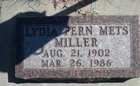 METS MILLER, LYDIA PERN - Dawes County, Nebraska | LYDIA PERN METS MILLER - Nebraska Gravestone Photos