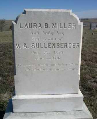 MILLER, BABY BOY OF LAURA B. & W.A. - Dawes County, Nebraska   BABY BOY OF LAURA B. & W.A. MILLER - Nebraska Gravestone Photos