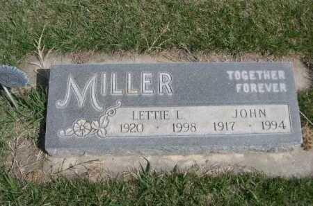 MILLER, JOHN - Dawes County, Nebraska | JOHN MILLER - Nebraska Gravestone Photos