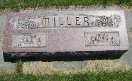MILLER, WILLIAM H. - Dawes County, Nebraska   WILLIAM H. MILLER - Nebraska Gravestone Photos