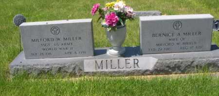MILLER, MILFORD W. - Dawes County, Nebraska | MILFORD W. MILLER - Nebraska Gravestone Photos