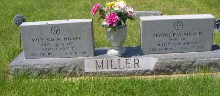 MILLER, BERNICE A. - Dawes County, Nebraska | BERNICE A. MILLER - Nebraska Gravestone Photos