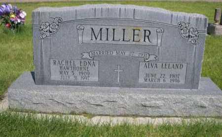 MILLER, ALVA LELAND - Dawes County, Nebraska | ALVA LELAND MILLER - Nebraska Gravestone Photos