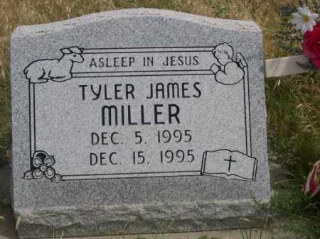 MILLER, TYLER JAMES - Dawes County, Nebraska | TYLER JAMES MILLER - Nebraska Gravestone Photos