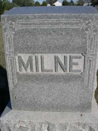 MILNE, FAMILY - Dawes County, Nebraska | FAMILY MILNE - Nebraska Gravestone Photos