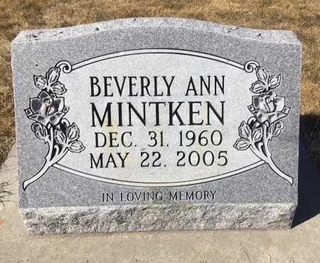 MINTKEN, BEVERLY ANN - Dawes County, Nebraska | BEVERLY ANN MINTKEN - Nebraska Gravestone Photos