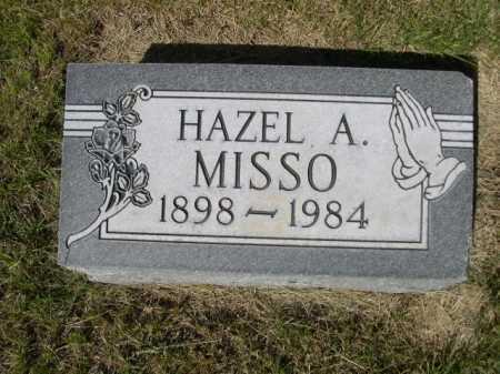 MISSO, HAZEL A. - Dawes County, Nebraska   HAZEL A. MISSO - Nebraska Gravestone Photos