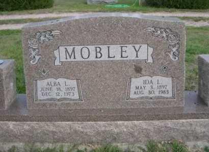 MOBLEY, ALBA L. - Dawes County, Nebraska   ALBA L. MOBLEY - Nebraska Gravestone Photos