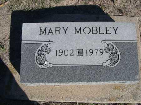 MOBLEY, MARY - Dawes County, Nebraska | MARY MOBLEY - Nebraska Gravestone Photos